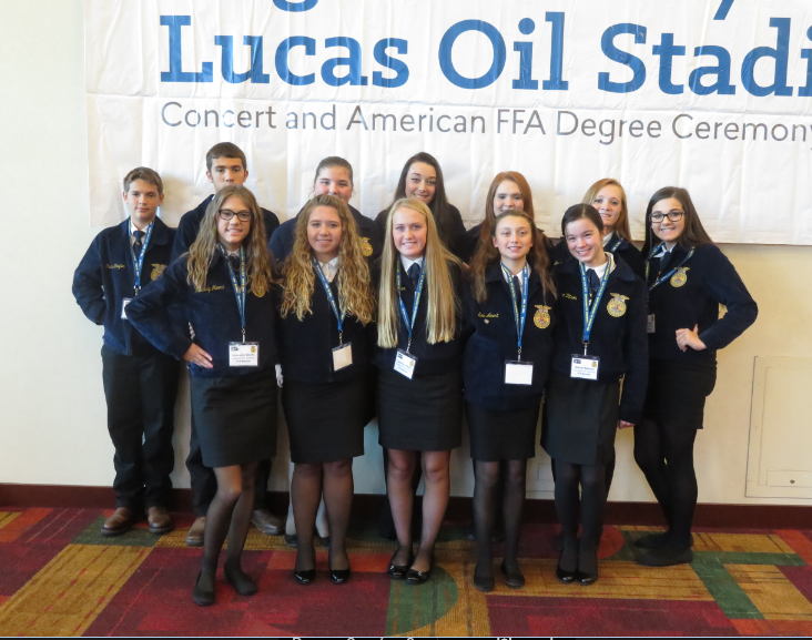 Crestview FFA: Soils Judging and National Convention